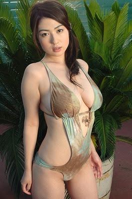 woman swimsuit nonami takizawa asian bikini model